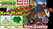 Plants vs. Zombies - New Garlic Umbrella Leaf - Roof 5-5 - Roof 5-6 - Classic PC HD (Ep