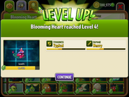 Blooming Heart Reaching Level 4