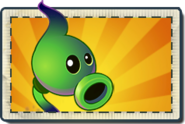 Shadow Peashooter Boosted Seed Packet