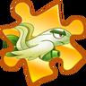 Egretflower Legendary Puzzle Piece