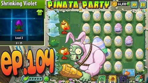Plants vs. Zombies 2 EASTER Vasebreaker - EASTER Pinata Party 3 30 2018 - 3 31 2018 (Ep