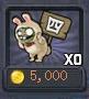 Rabbit zombie coins