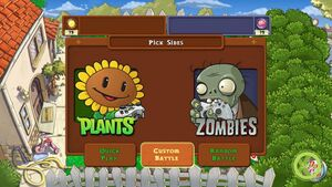 Sun for Plants, Brains for Zombies