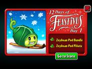 12 Days of Feastivus 2019 Day 1 Zoybean Pod