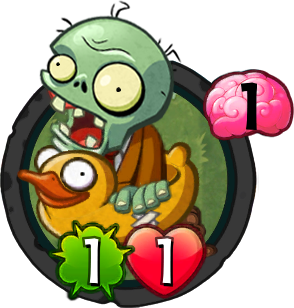 Ducky Tube Zombie (PvZH)