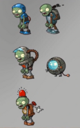 Electric Ages Zombie Concept 1