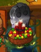 Exploding Fruitcake on Pecanolith