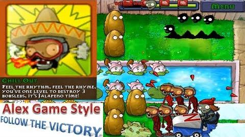 Plants vs. Zombies - Achievement - Chill Out - Mini Games Bobsled Bonanza (Android HD) Ep