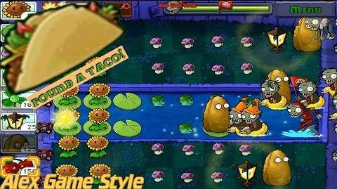 Plants vs. Zombies Adventure Found a Taco level 4-4 Fog (Android Gameplay HD) Ep