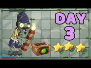 Plants vs Zombies 2 China - Heian Age Day 3《植物大战僵尸2》- 平安时代 3天