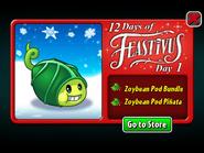 12 Days of Feastivus 2020 Day 1 Zoybean Pod