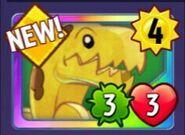 Get New Bananasaurus Rex!