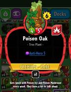 Poison Oak new statistics