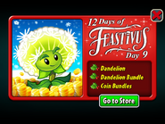 12 Days of Feastivus 2019 Day 9 Dandelion & Coin Bundles