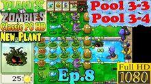 Plants vs. Zombies - New Tangle Kelp - Dave's Shop - Pool 3-3 - Pool 3-4 - Classic PC HD (Ep