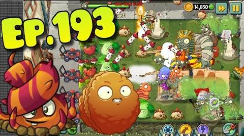 Plants vs. Zombies 2 - Premium Plants Explode-O-Nut, Escape Root, Apple Mortar, Lava Guava (Ep