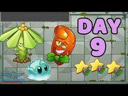 Plants vs Zombies 2 China - Heian Age Day 9《植物大战僵尸2》- 平安时代 9天
