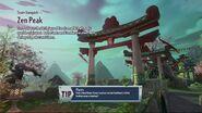 Zen Peak loading screen