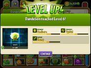 DandelionreachingLevel6