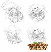 Heian Age World House Concept