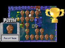 Plants vs. Zombies - Ace of Vase Puzzle - Classic PC HD (Ep
