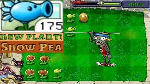 Plants vs. Zombies Adventure Got a New Plant Snow Pea level 1-6 Day (Android Gameplay HD) Ep