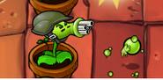 Gatling Pea in High Gravity