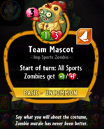 Team Mascot description
