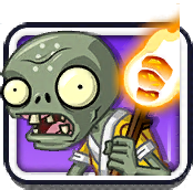 Torch Monk Zombie Icon