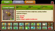 Coconut Cannon Almanac Entry
