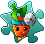 Intensive Carrot Costume Puzzle Piece