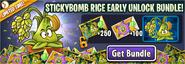 Stickybomb Rice Early Access Bundle