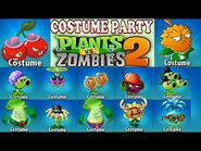 Plants vs. Zombies 2 COSTUME PARTY 2020 - 35 plant costumes - Costumes prices (Ep