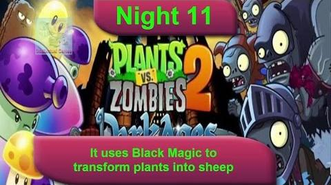Dark Ages Night 11 Wizard Zombies - Plants vs Zombies 2 Dark Ages Part 2