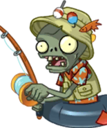 Fisherman Zombie Almanac Icon Texture