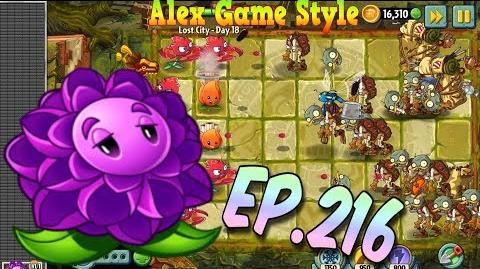 Plants vs. Zombies 2 Stallia, A.K.E.E. and Red Stinger - Lost City Day 18 (Ep