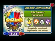 Shine Vine's Shimmer Season - Solar Tomato's Tournament