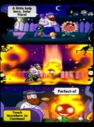 Solar Flare comic strip