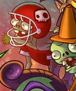 All-Star Zombie on title screen