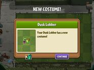 Getting Dusk Lobber's Second Costume