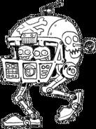 Mecha-Football Zombie Concept Art