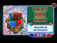 Olive Pit's Oily Season