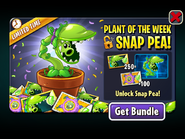 Plant of the Week Snap Pea