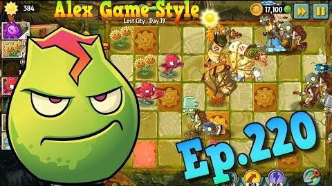 Plants vs. Zombies 2 Got a new Plant Stallia - Lost City Day 19 (Ep