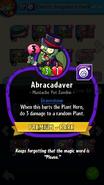 Abracadaver Description