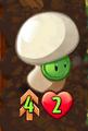 Double-Strike Button Mushroom
