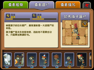 Flag Kung-Fu Zombie Almanac Entry