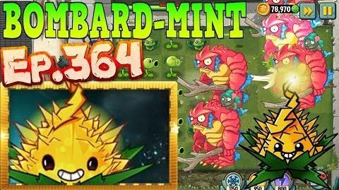Plants vs. Zombies 2 - BOMBARD-MINT - Quest, Max level Quest (Ep