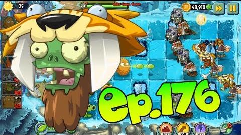 Plants vs. Zombies 2 Pepper-pult defrosts Frostbite Caves Day 12 (Ep
