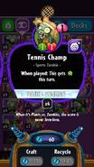 Tennis Champ stats